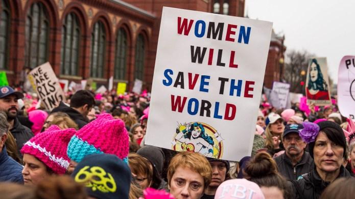 Women's March on Washington draws unprecedented