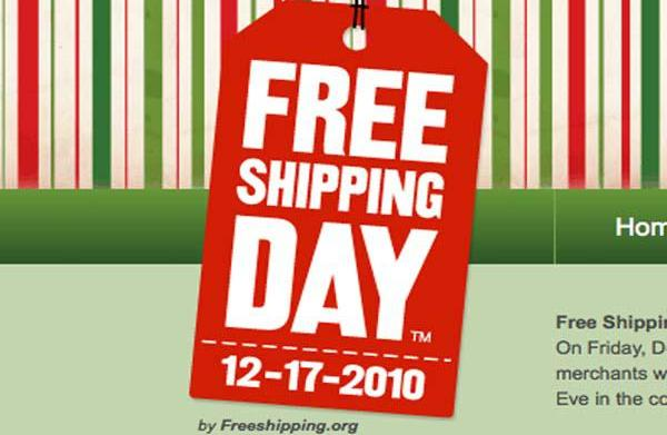 Free Shipping Day is December 17