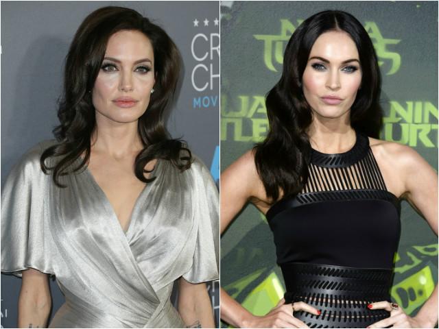 Angelina Jolie and Megan Fox