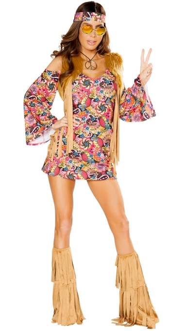 Sexy Halloween Costumes: Hippie