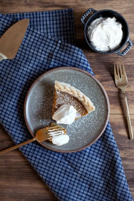 New Twists on Classic Thanksgiving Pies: Mascarpone Pumpkin