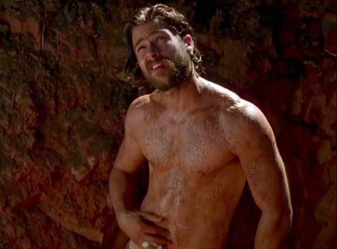 Brad Pitt nude in Kalifornia