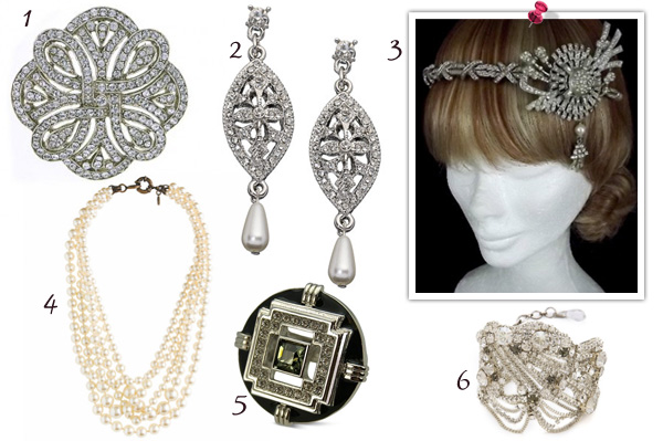 Great Gatsby inspired accessories