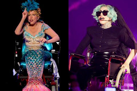 Lady Gaga and Bette Midler