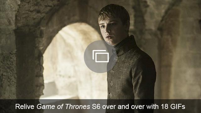 Game of Thrones season 6 GIFs slideshow