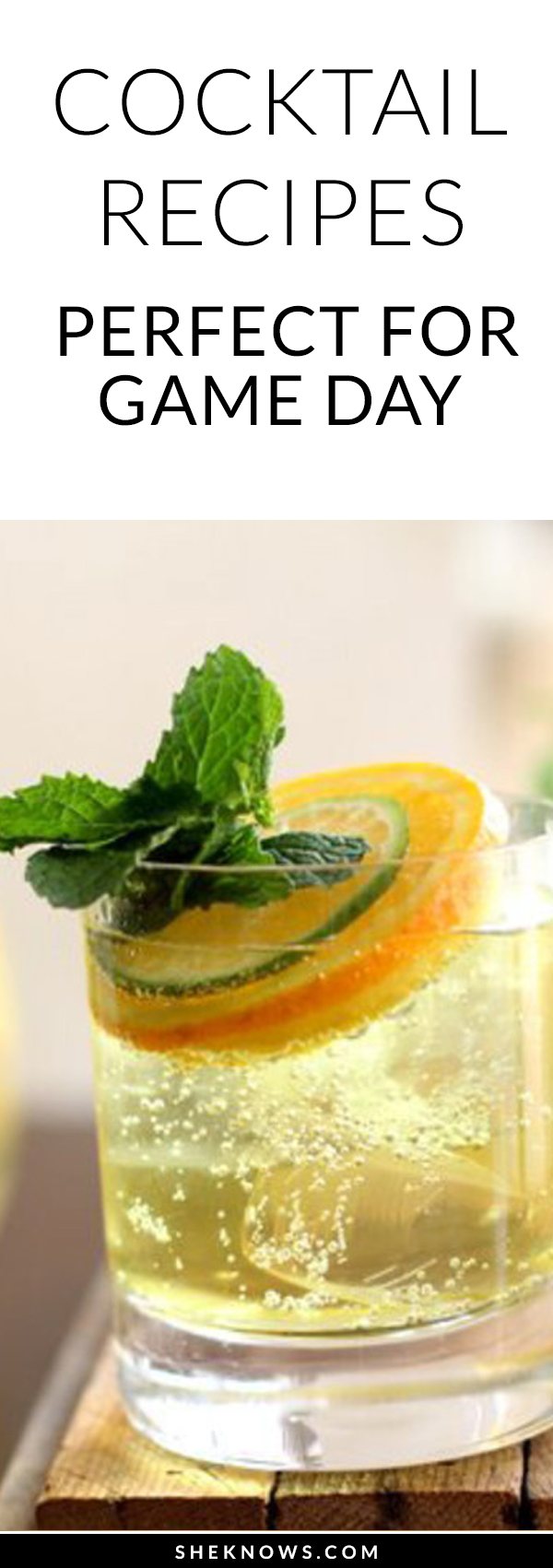 Pin it! Cocktail recipes for game day