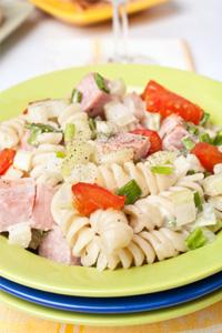 Garbage pasta salad