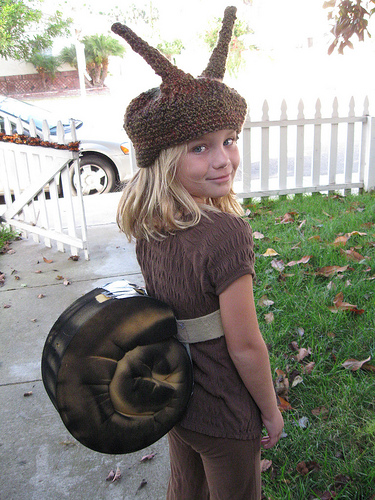 garden snail costume