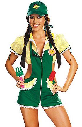 sexy gardener costume