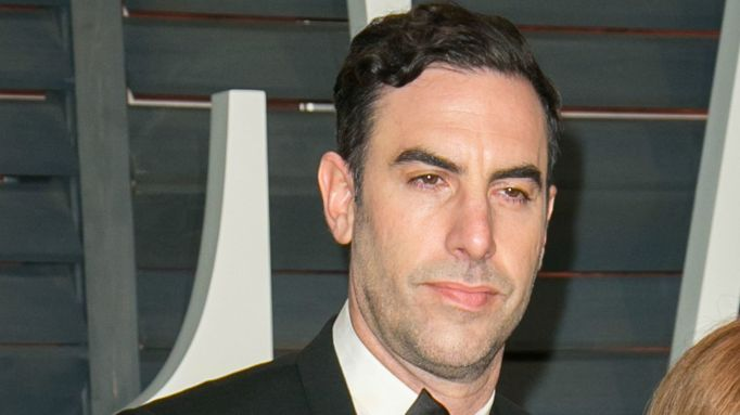 Sacha Baron Cohen out on the town