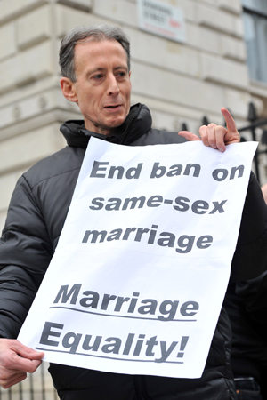 Gay marriage support
