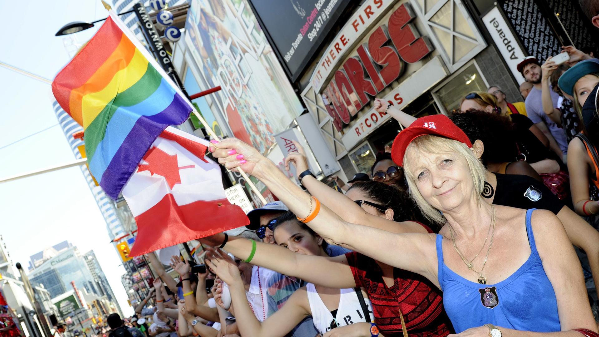 Gay Pride Parade in Toronto