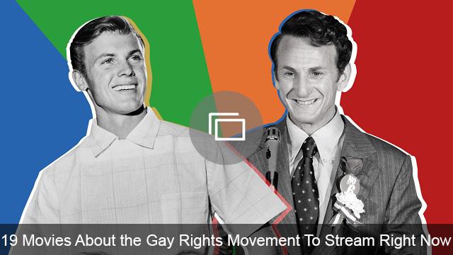 Gay rights movies slideshow