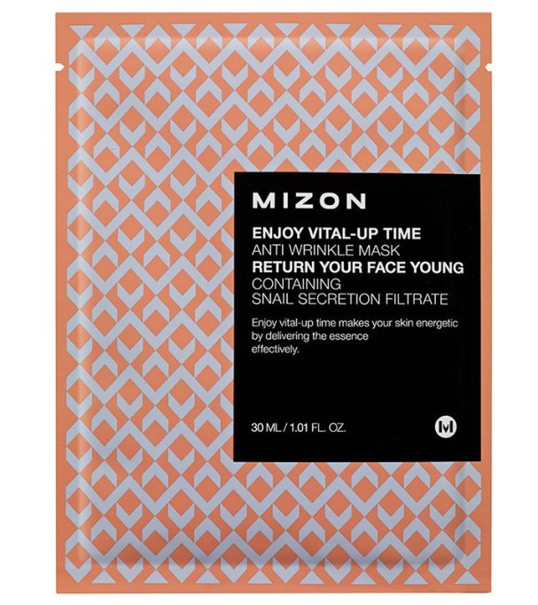 The Best Korean Skin Care Products at Target: Mizon Enjoy Vital-Up Time-Anti-Wrinkle Mask   Best Skincare Products 2017