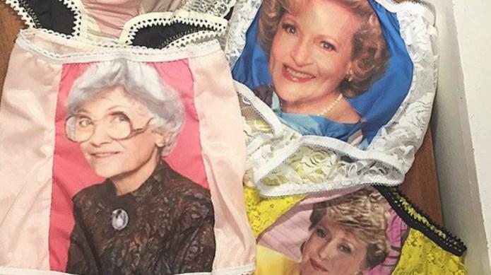 Golden Girls underwear takes granny panties