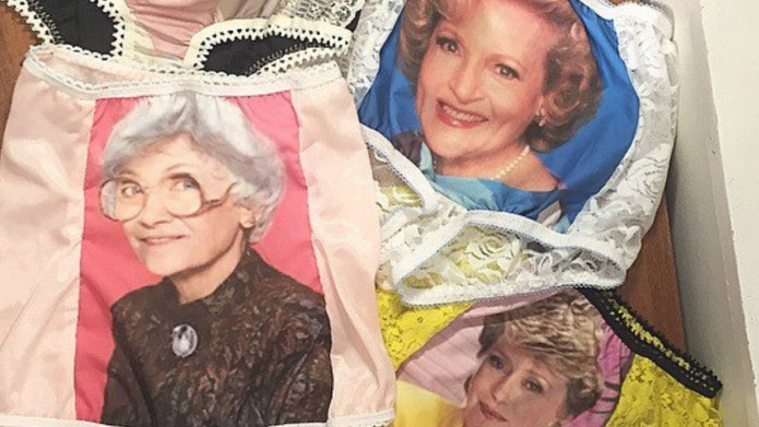 Golden Girls underwear takes granny panties