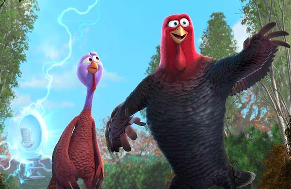 Turkeys tackle Thanksgiving in Free Birds
