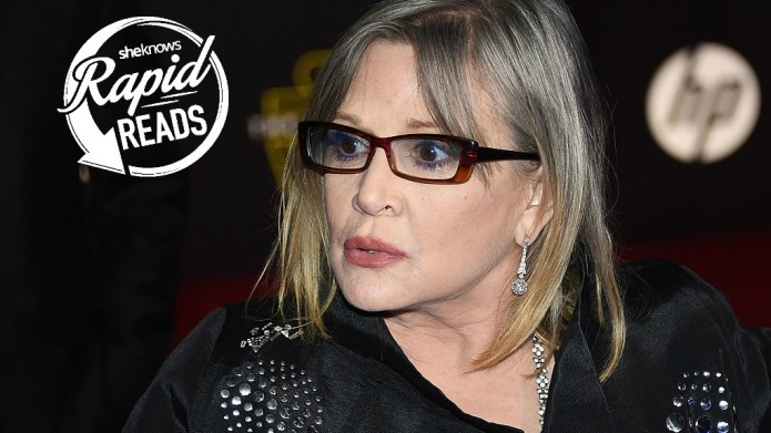 Carrie Fisher tells body shamers to