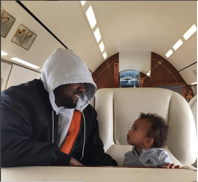 Celebrity Dads on Father's Day 2017: Kanye West