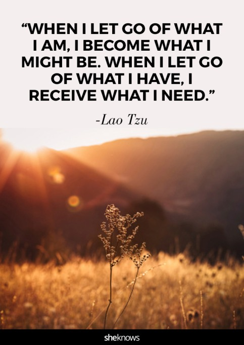 quote about letting go