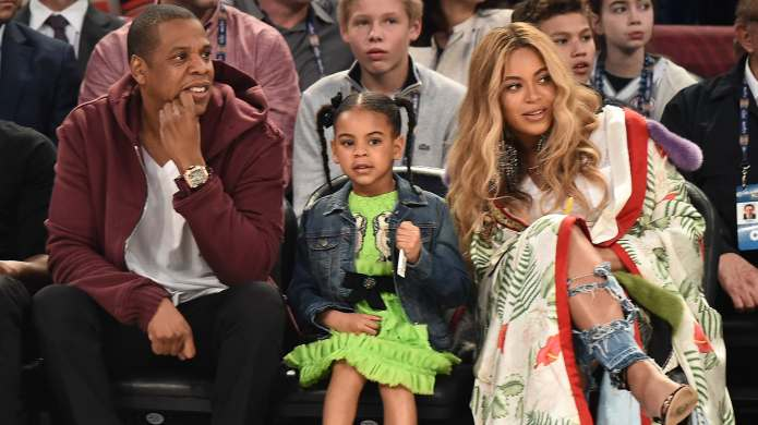 Blue Ivy Wore a Dress That