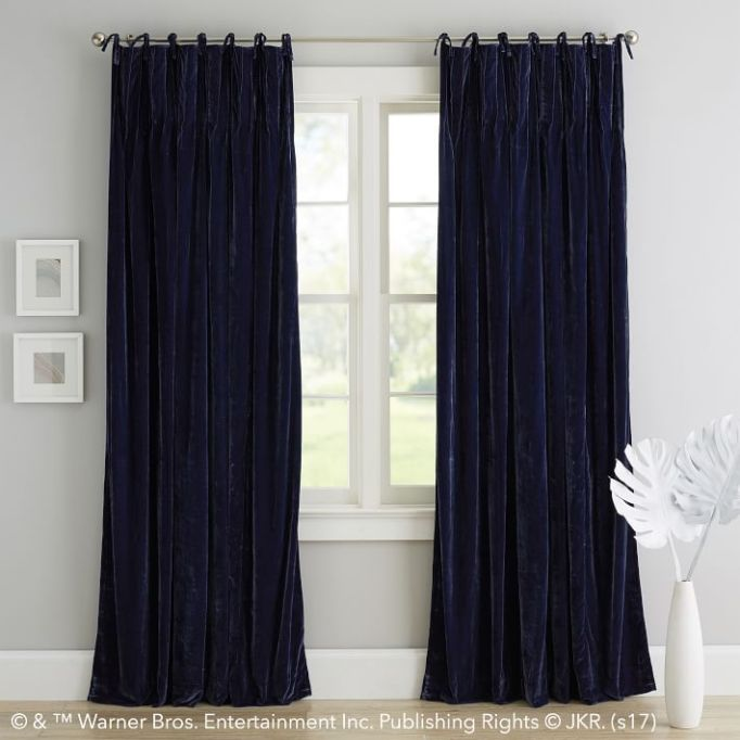 PB Teen Harry Potter Collection: Keep things cozy with these velvet drapes