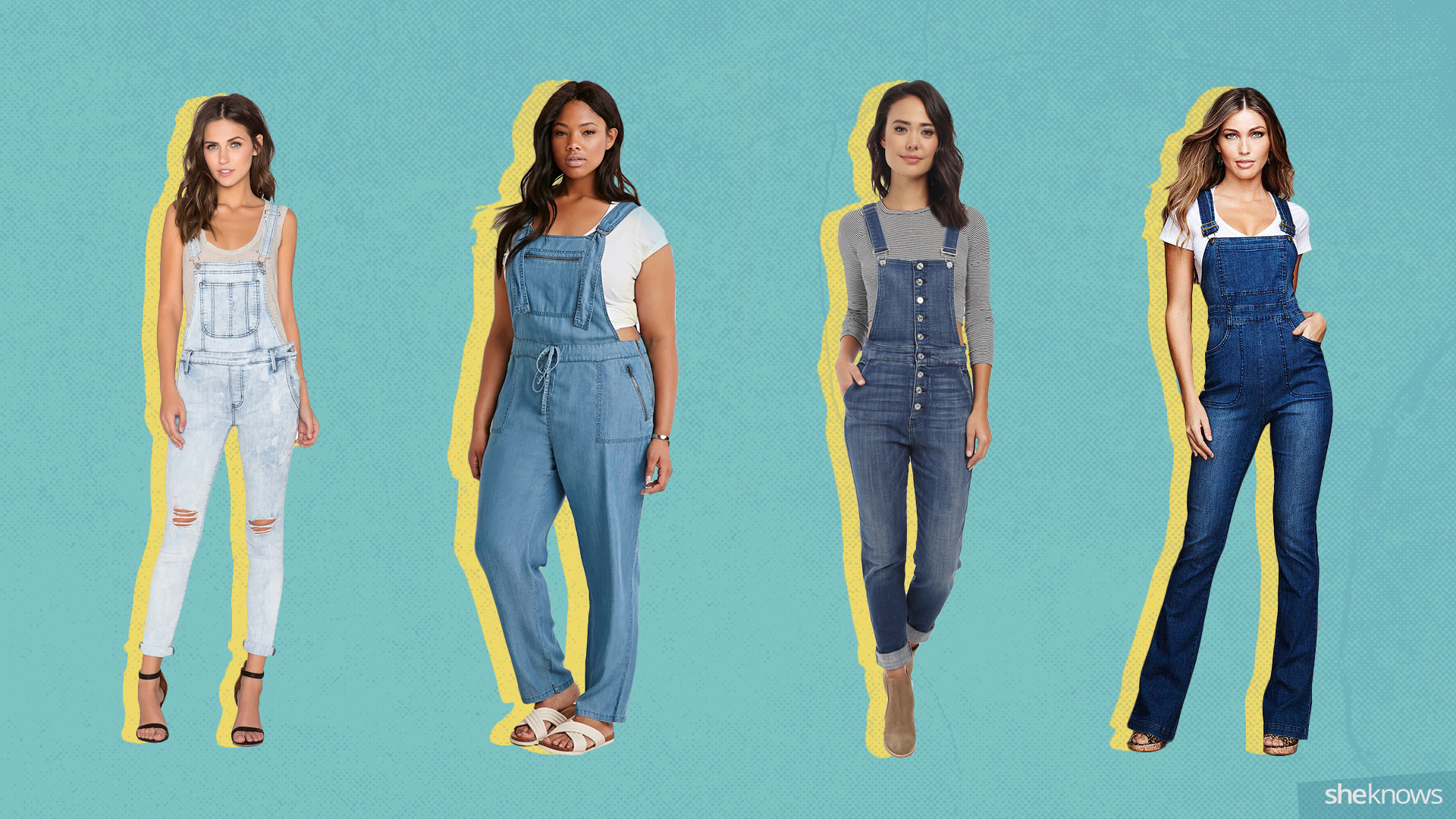 c885aa35047 9 Ways to wear overalls as an adult – SheKnows