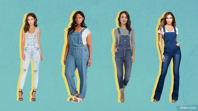 9 Ways to wear overalls as