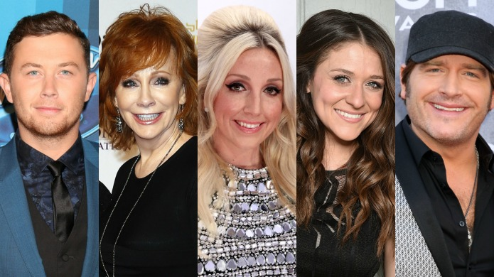 Scotty McCreery and other country stars'