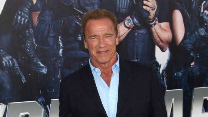 Arnold Schwarzenegger erases ex from official