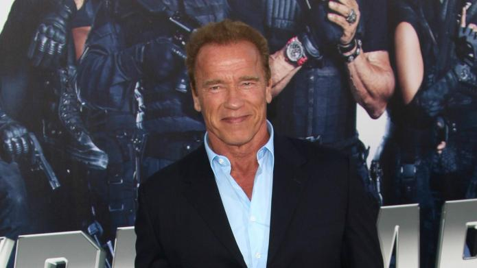 Arnold Schwarzenegger erases ex from official