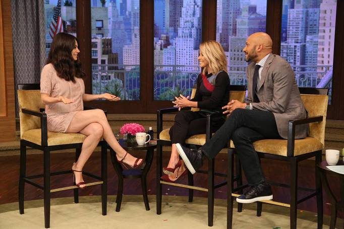 Mila Kunis on 'Live with Kelly'