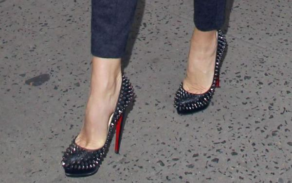 Guess who: Who wore these studded