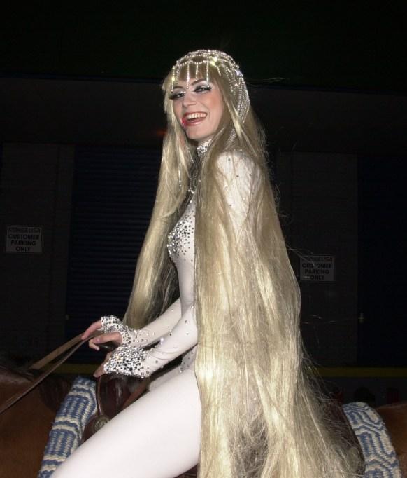 Heidi Klum's Halloween Costume: Lady Godiva