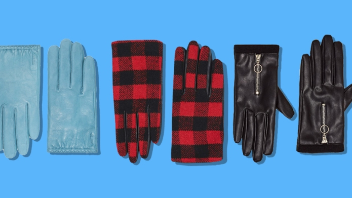 13 pairs of winter gloves that