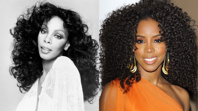 Donna Summer and Kelly Rowland