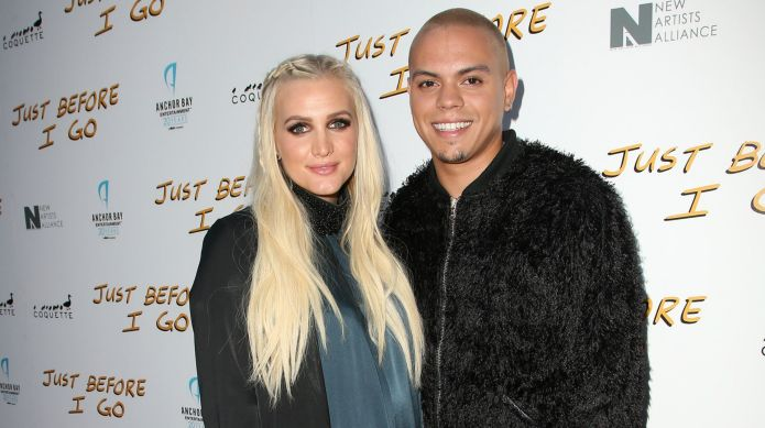 Ashlee Simpson's hubby shares series of