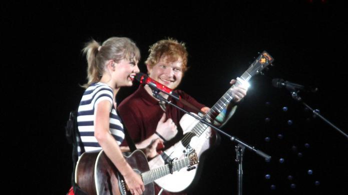 Ed Sheeran: Taylor Swift is really