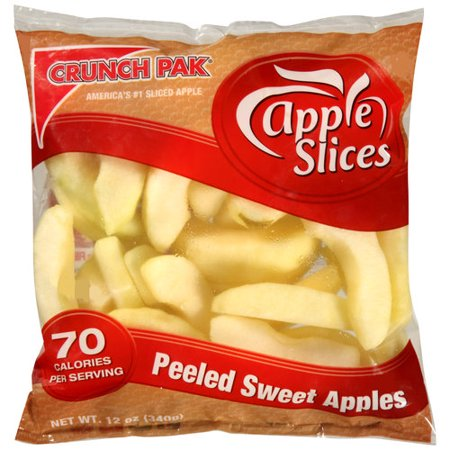 Best snacks: Sliced apple snacks
