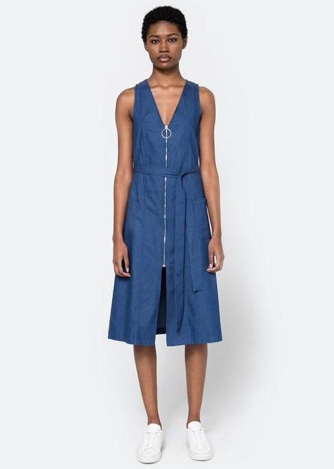 Denim Dresses Are Back: Farrow O-Ring Denim Dress | Summer Fashion Trends