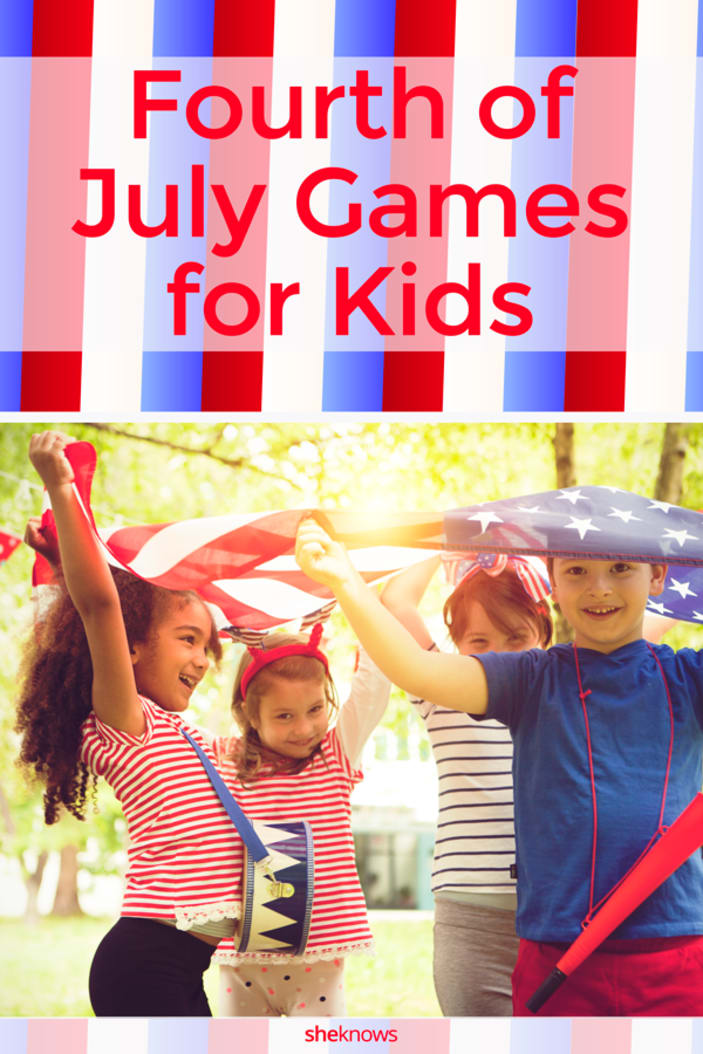 Fourth of July Backyard Games for Kids