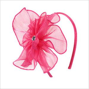 Gem flower headband