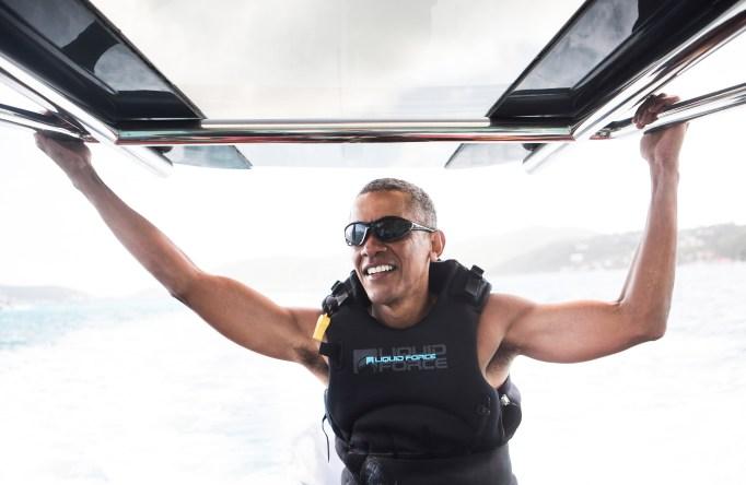 Barack Obama is living his best, post-POTUS life