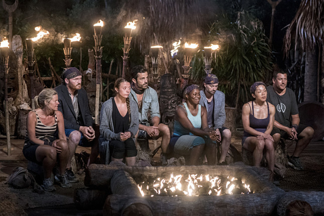 Gen-X tribe at Tribal Council