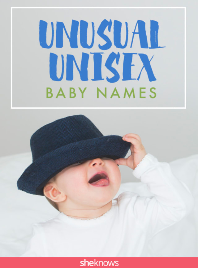 Unusual gender-neutral baby names