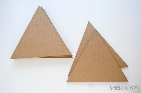 Geometric pinata DIY