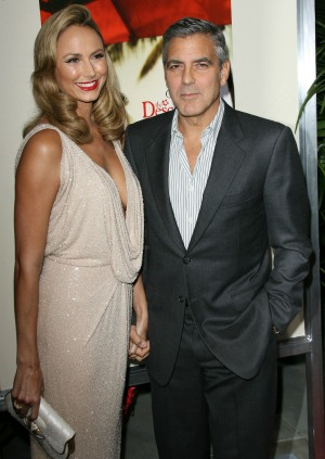Stacy Keibler George Clooney