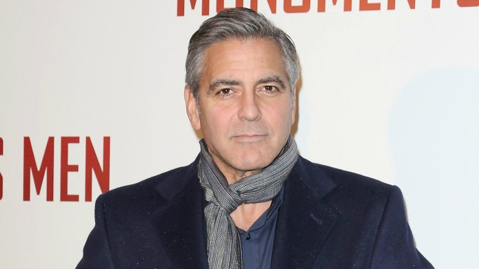 George Clooney stands up for women