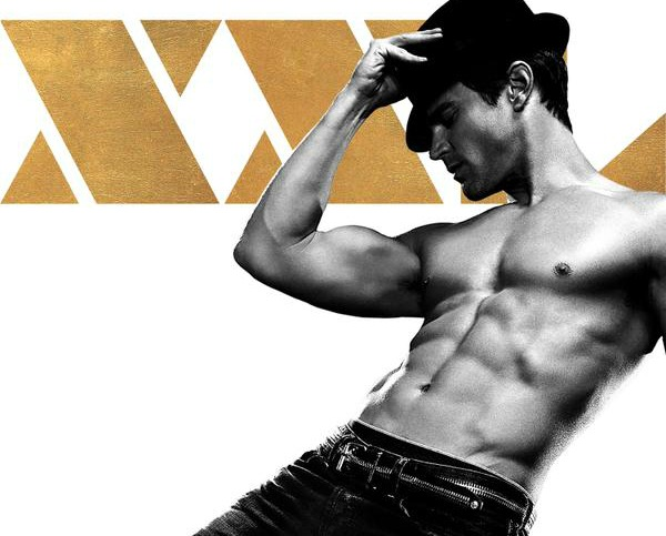 Matt Bomer Magic Mike XXL movie poster