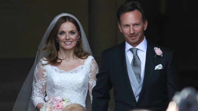 Geri Halliwell marries Christian Horner and